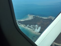 Awesome views from the plane.