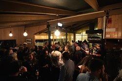Jack Frost Bar + Restaurant.  The heart beat of the Davenport Village.