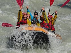 Rafting Mont Blanc
