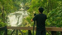 Mae-Ya waterfall is one of the most beautiful waterfall in Chiang Mai.