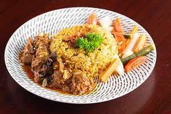 Nasi Briyani with Carry Lamb
