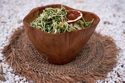 Cabbage, coconut and cashew slaw
