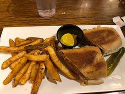 Cuban Sandwich with Fries