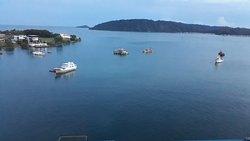 Amazing sea view.