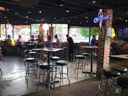 No Way Jose's patio bar