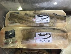 ミャンマー産 天然鰻 白焼の販売もしています。6$~