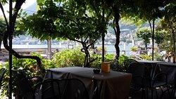 """Stimmungsvolle Terrasse der """"BAR ITALIA"""""""
