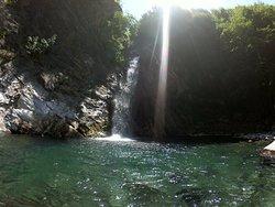 La cascata della lunigiana