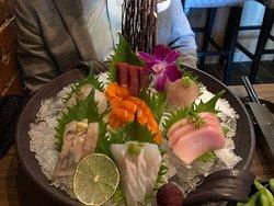 Sashimi Platter at Miku