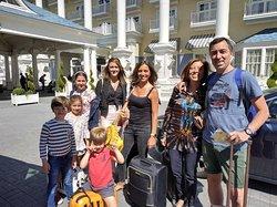 Mrs. Petroccione & family