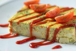Tofu spanish omelet