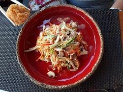 Bonne qualité cuisine japonaise et europeenne