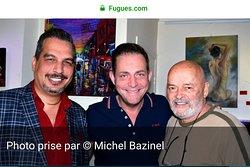 L'exposition solo de Mourad Fouad se poursuit jusqu'au 27 juillet au Lounge L'un et L'autre. Fouad Mourad, Jasmin Roy et Yvon Jussaume
