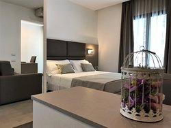 Junior Suite di 30 mq con 2 balconi