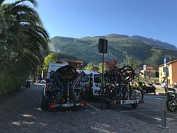 Bike Shuttle Station Torbole by Velolake