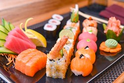 Authentic and fresh are the two best words to describe sushi at Sushiramis!