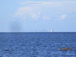 Miami from Visitor Center