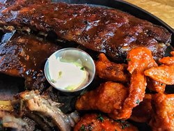 Dont Forget our Bottomless Ribs and WIngs challenge every Wednesday from 5pm!