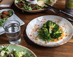 Charred Broccoli & Chilli Jam