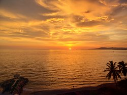 Puerto Vallarta Sunset from our Lanai