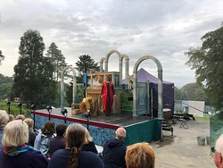 Illyria Theatre The Tempest. Lovely evening too
