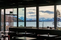 Dark Sky Diner is located on the picturesque lakefront and boasts spectacular views day and night.