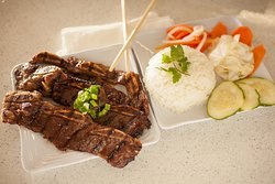 Korean Short Rib with Rice