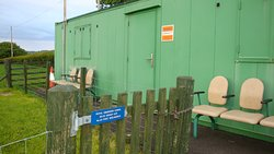 Bunker compound gate.. Pre-booking absolutely essential for guided tour.