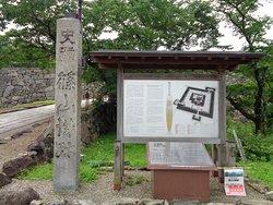 丹波篠山城入り口