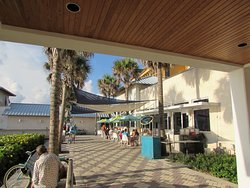View of Deerfield Café from the boardwalk
