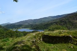 View from Roman fort at Dinas Emrys