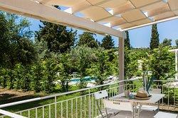 Villa Ostria with private garden