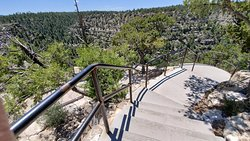 Walnut Canyon - Lots and lots of steps