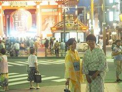 浴衣を着て夏を楽しもう!🎡快來穿浴衣體驗夏天的樂趣!Wear Yukata and enjoy the Summer in Japan!