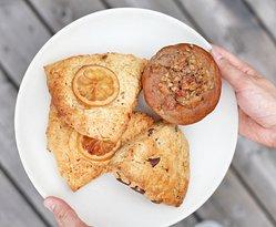 Housebaked Vegan & Gluten Free Muffins & Housebaked Scones