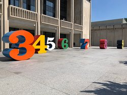 Numbers 1-10 by Robert Indiana