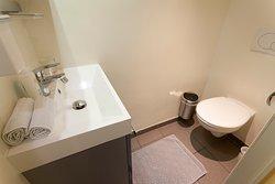 Toilettes/WC de la suite junior