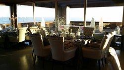"""Autentica sensação de almoçar ou jantar numa sala de um """"cruzeiro""""... top!"""