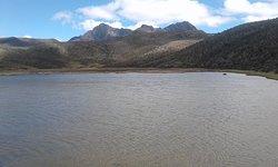 Área de la laguna