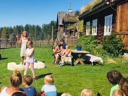 Familietur til Glitersjå
