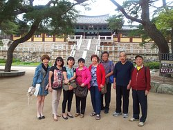 Stay healthy alll the time. Philippino seniors in Gyeongju.