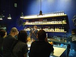 Bar with Francesco 'Ciccio' Amodeo working