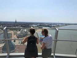 Nice View to an Overview in Bremerhaven