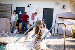 Enjoy local musicians during our Sandman Summer Nights series