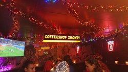 Smokey Coffeeshop: Inside view