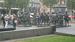 Dam Square monument, an amazing piece of work.