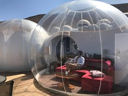 Stay in bubbles one of best experience