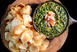Rock Shrimp + Spinach Dip