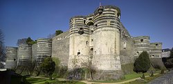 Chateau d'Angers ouvert