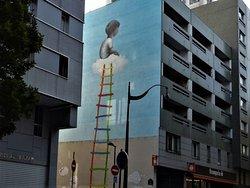 "Fresque ""The Ladder"""